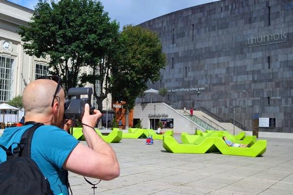 vienne vienna polaroid urban tour sophort photo museusquartier