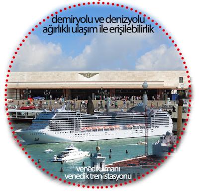 venice port, venezia railway station, venedik, erişilebilirlik, çevre dostu ulaşım