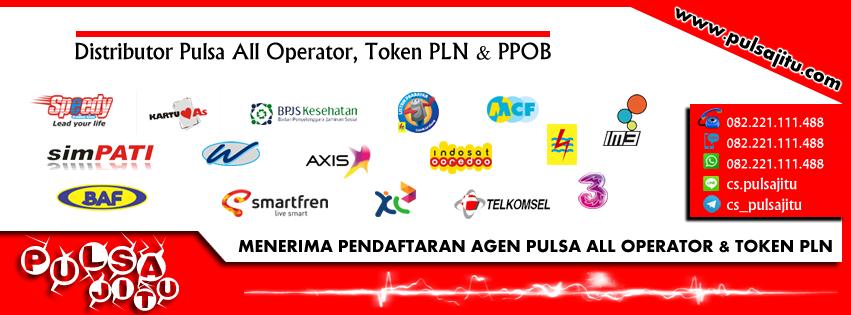 Cara Menjadi Agen Pulsa All Operator dan Token PLN