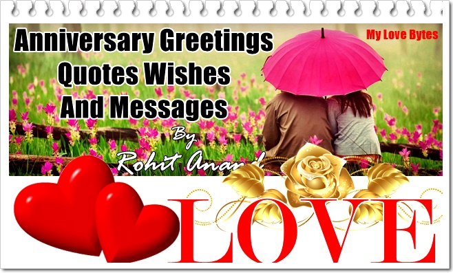 Happy Marriage Anniversary Messages, Wishes, Quotes : Celebrating Love