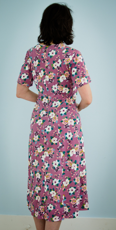 Pleasant View Schoolhouse: Here\'s the Alabama Chanin Wrap Dress