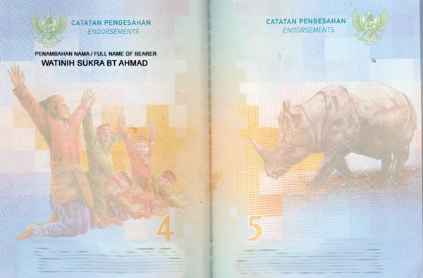 penambahan nama 3 kata di paspor