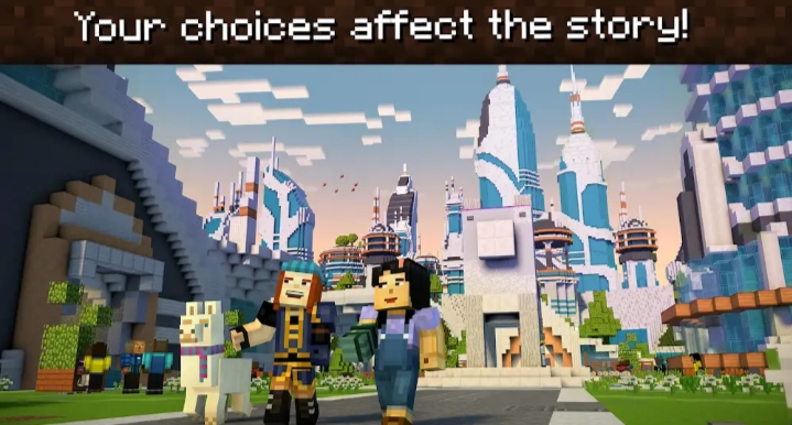 MineCraft: Story mode - SEASON 2 Full Unlocked v-1 11 12 (MOD APK+