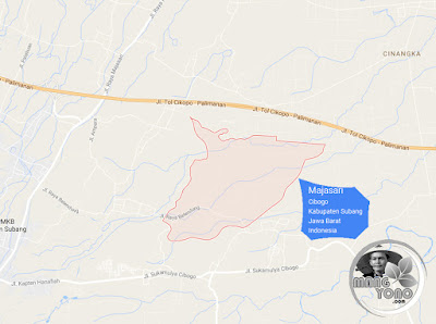 PETA : Desa Majasari, Kecamatan Cibogo