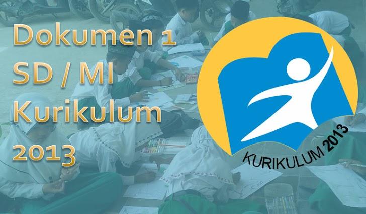 Dokumen 1 SD MI Kurikulum 2013 Revisi Final 2017 Format Word