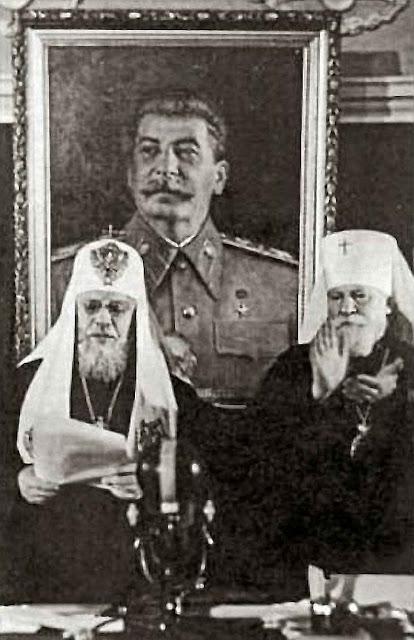 Na farsa conhecida como 'Sínodo de Lvivi' em 1946, por ordem de Stalin o Patriarcado de Moscou fechou a igreja greco-católica.