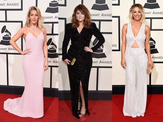 My favorite looks from the 2016 Grammys red carpet