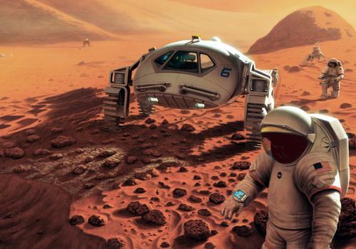 Tinuku Elon Musk describes technical steps of colonization on Mars