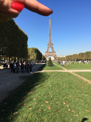 Eiffelturm am Champ de Mars
