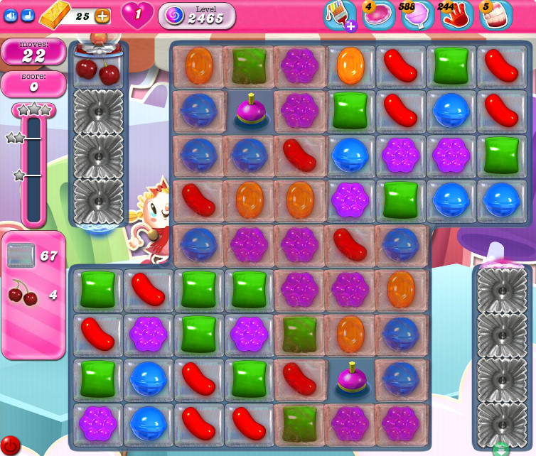 Candy Crush Saga level 2465
