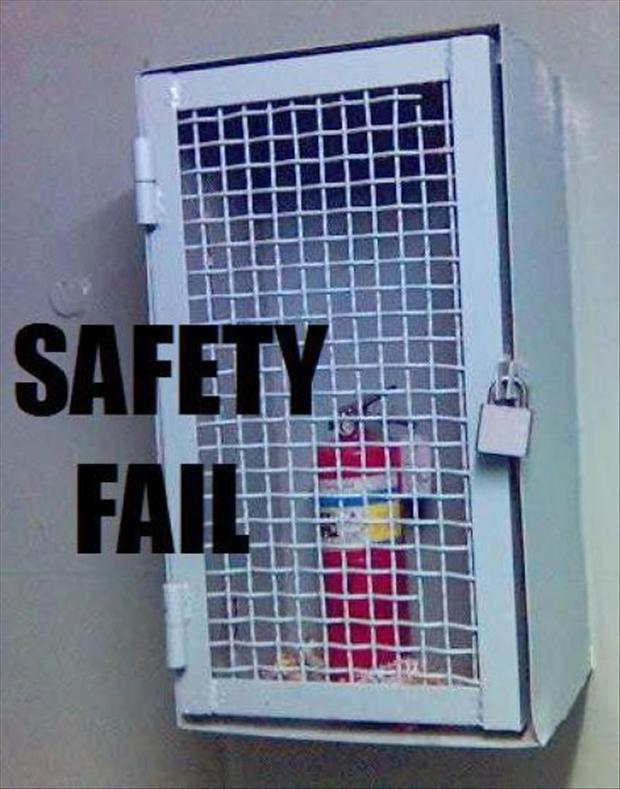 30+ Funny Safety Fails Photos That Will Make You LOL