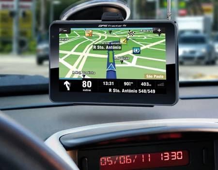 Aparelho de GPS para carros