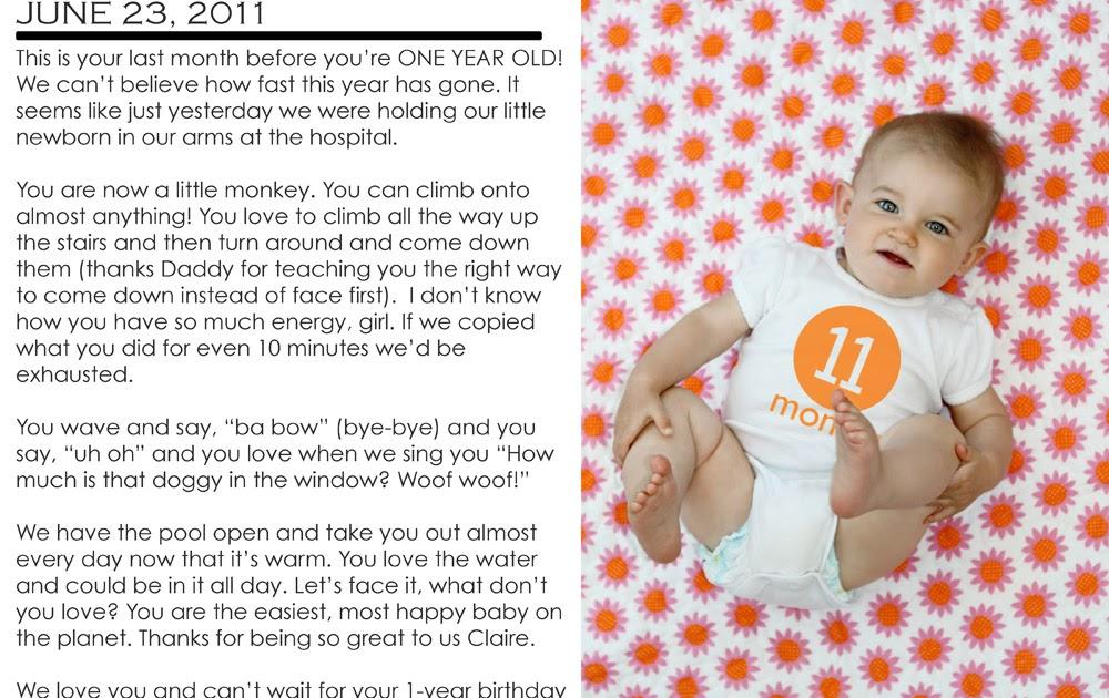 Garrison Blog: 11 months