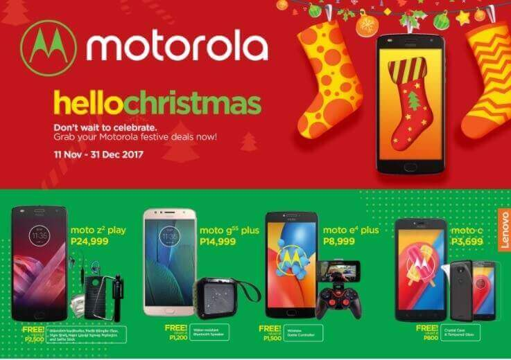 Motorola Hello Christmas Promo; Get Exciting Freebies Until December 31