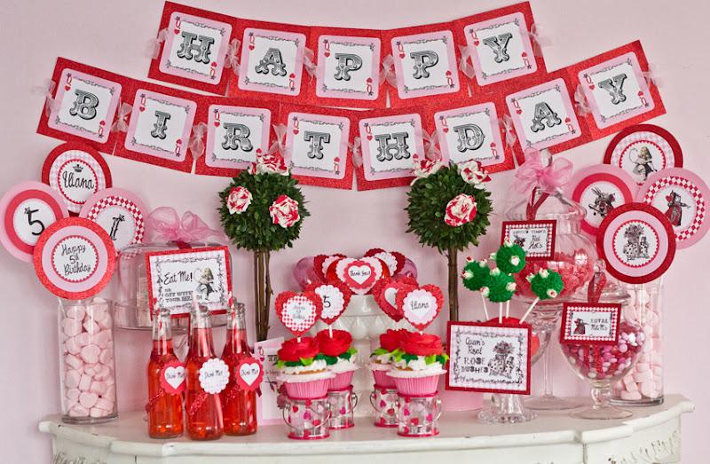 Kara S Party Ideas Birthday Party Queen Of Hearts Valentine S