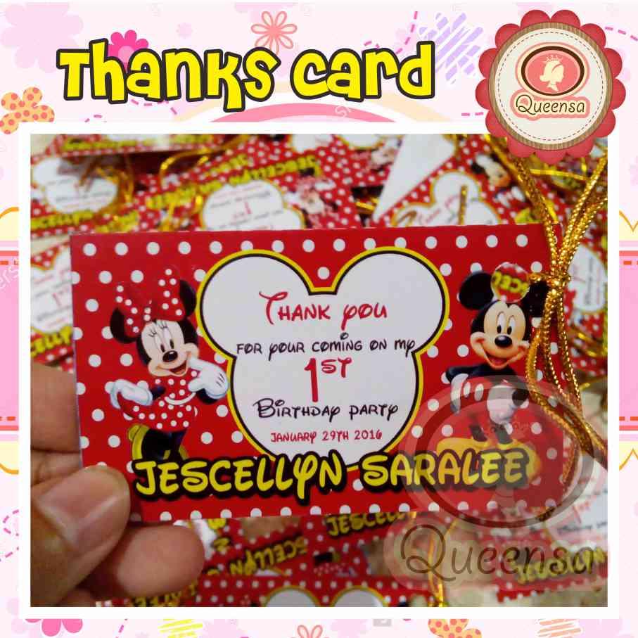 Desain Kartu Ucapan Ulang Tahun Anak - kartu ucapan souvenir