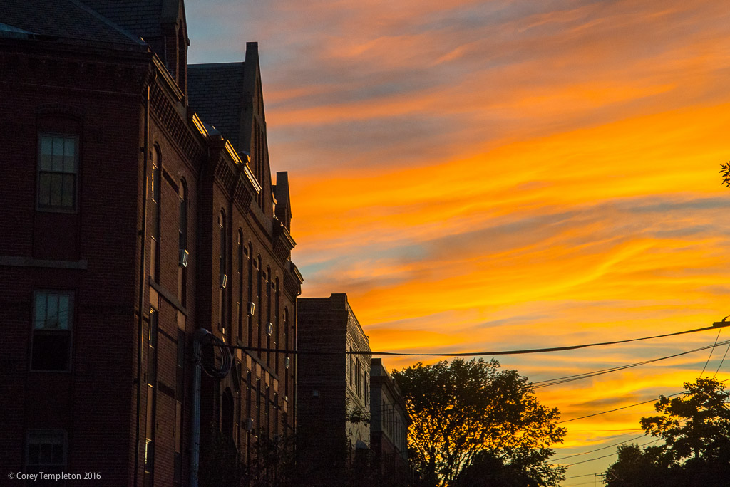 portland maine usa september photo by corey templeton of nice sunset colors in the
