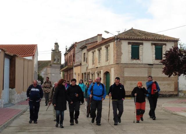 Cadalso camino de santiago etapa de san vicente del palacio a rueda - San vicente del palacio ...