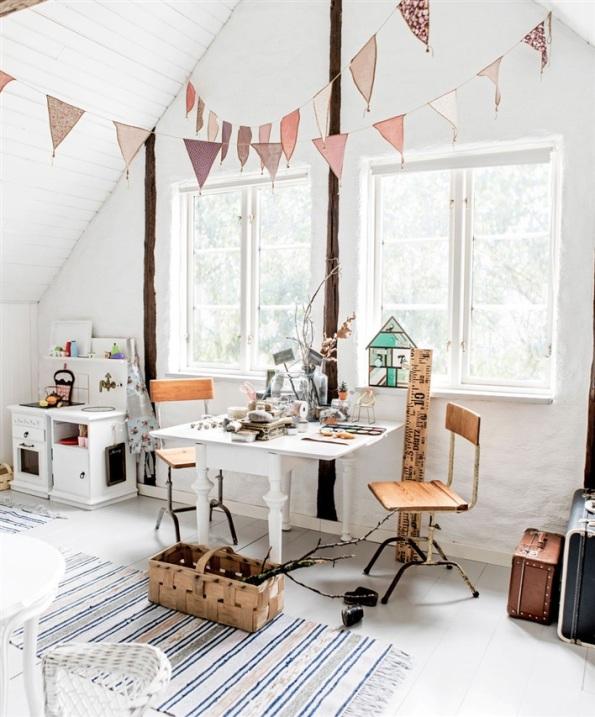habitacion infantil estilo escandinavo