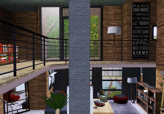maison avec étage sims 3