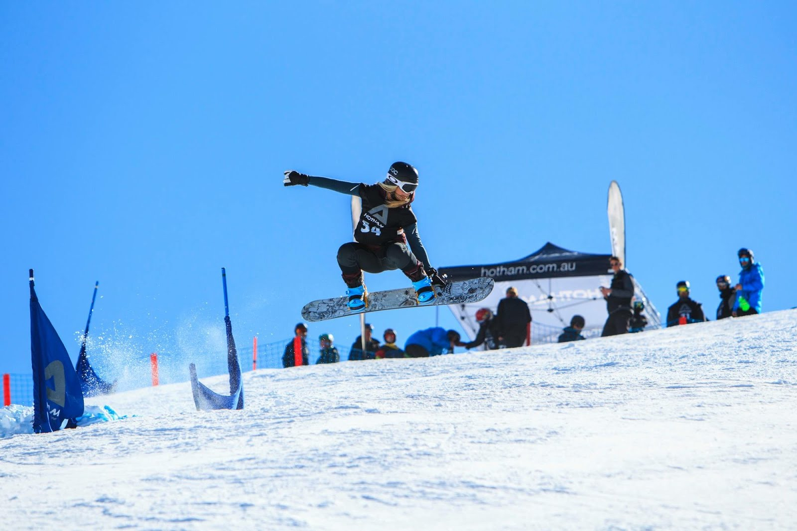 Banked Slalom In Australia having some fun