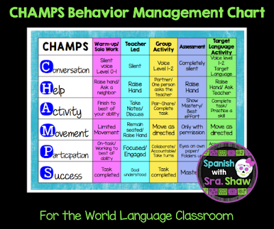5 Reasons why the CHAMPS Method Will Improve Your Classroom Management