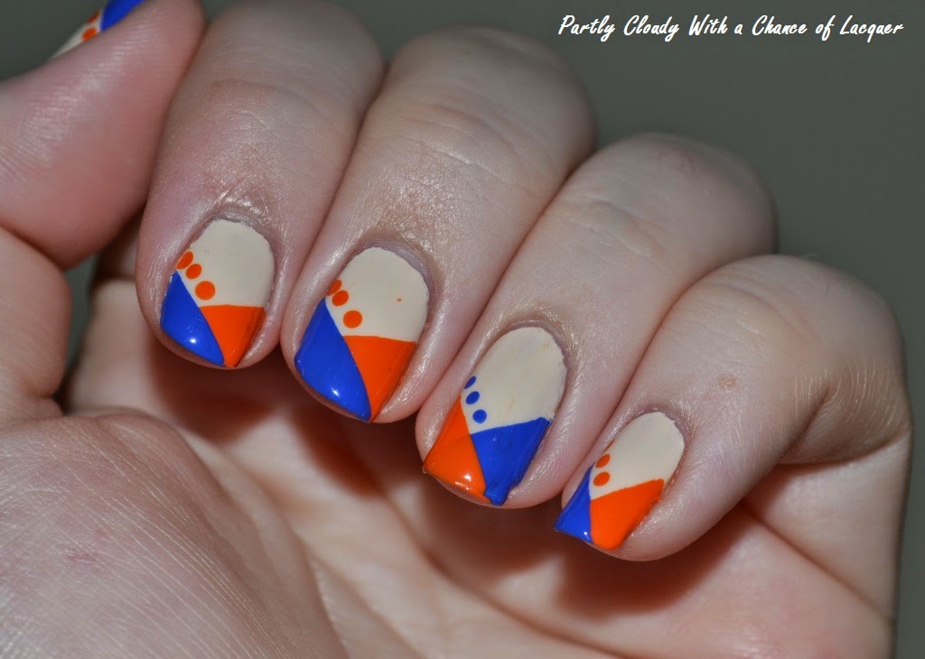 Partly Cloudy With a Chance of Lacquer: Florida Gator