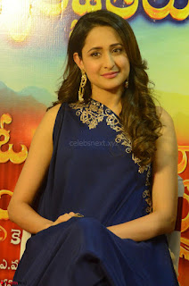 Pragya Jaiswal in beautiful Blue Gown Spicy Latest Pics February 2017 105.JPG