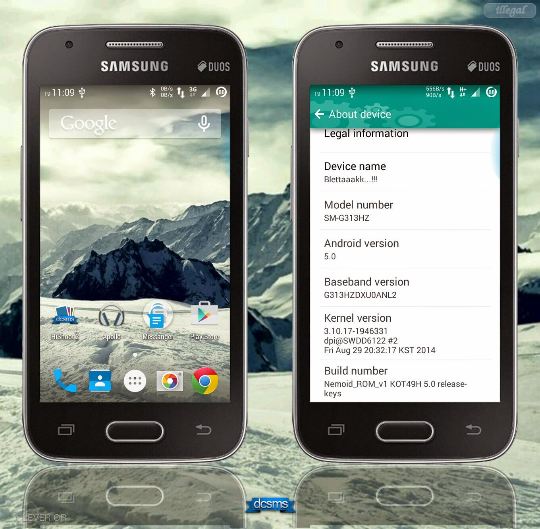 New [ROM] Nemoid ROM v1 for Galaxy V SM-G313HZ By Unspou