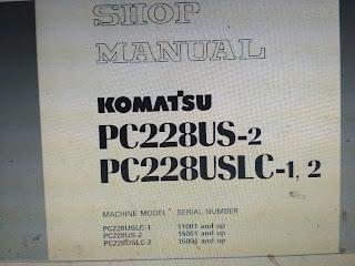 Komatsu PC228USLC-1 PC228US-2 PC228USLC-2