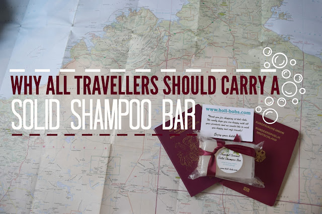 solid shampoo bar travellers