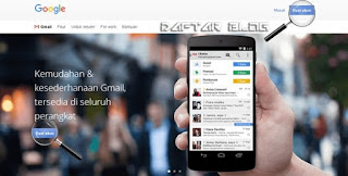 Cara Daftar Gmail Google Mail