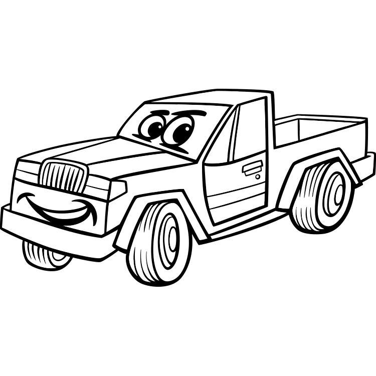 contoh gambar mewarnai mobil up
