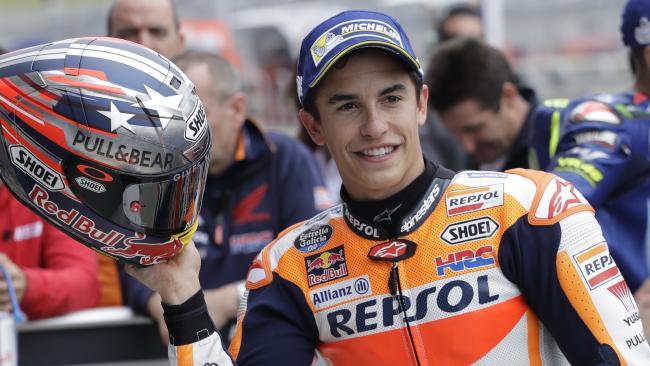 MotoGP Austin 2017 : Marquez finish pertama di susul Rossi dan Pedrosa, Vinales jatuh !