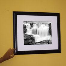 Waterfalls Monochrome Framed Print Wall Frame in Port Harcourt, Nigeria