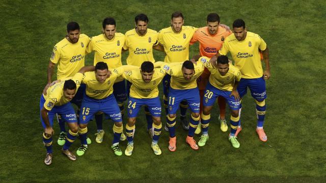 Alineación titular de UD Las Palmas en Vallecas