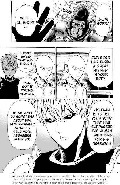ONE PUNCH MAN CHAPTER 9 Page 8