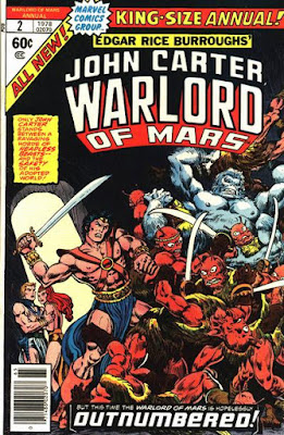 John Carter Warlord of Mars Annual #2