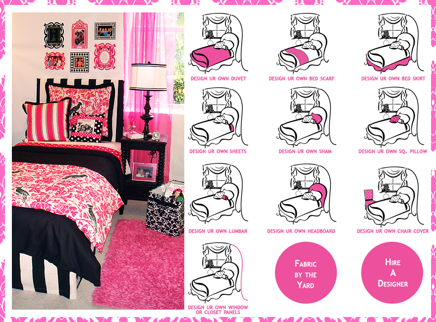 Art Décor: Dorm Bedding Girls: Design Your Dorm Room Bedding