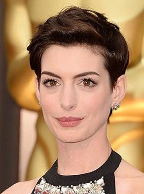 potongan model rambut pendek wanita tahun 2014