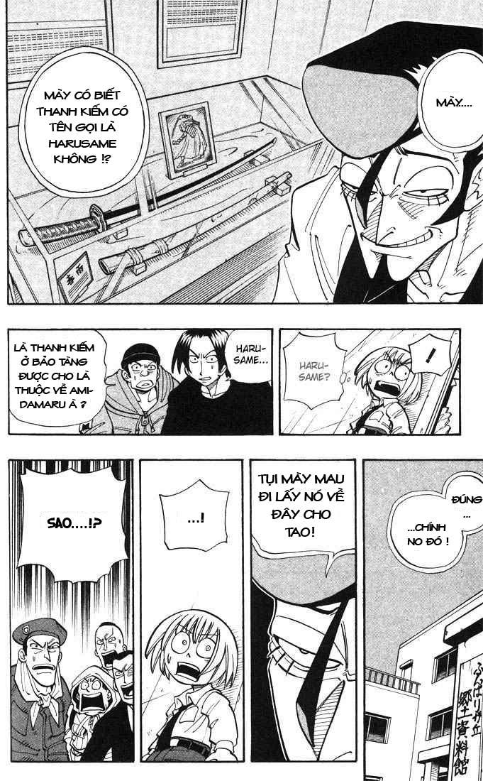 Shaman King [Vua pháp thuật] chap 19 trang 14