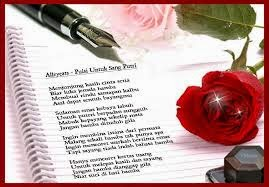 Puisi Cinta Sejati Buat Pacar