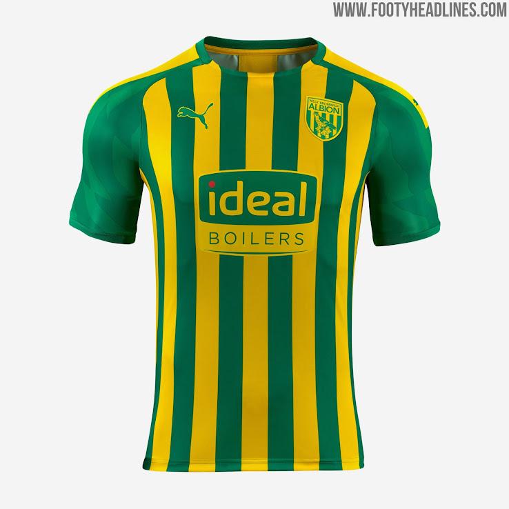 West Bromwich Albion 19 20 Away Kit Released Footy Headlines