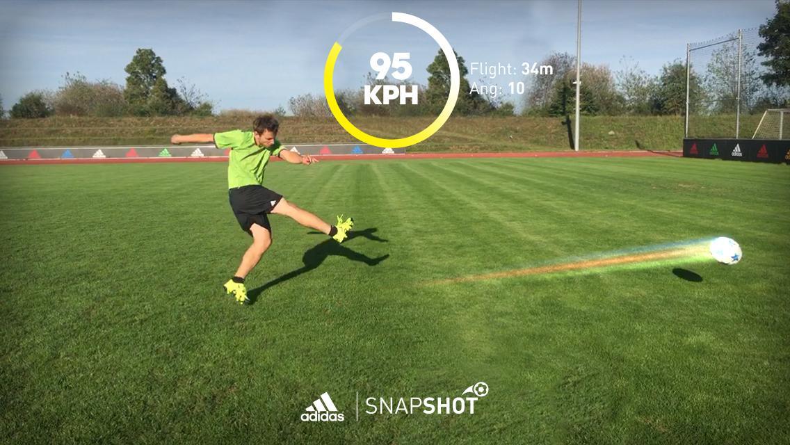 a8175f574 فقد أطلقت شركة أديداس Adidas العملاقة تطبيقا ذكيا يعمل على قياس سرعة  التسديدة واسمه SnapShot ,فطريقة استعمال التطبيق سهلة جدا يكفي تحميل التطبيق  من الرابط ...