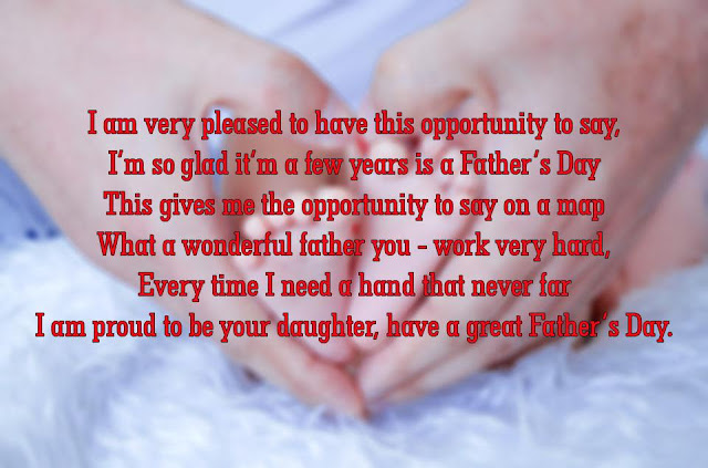 Wishes Message & Greetings Cards Of Happy Fathers Day From Daugher