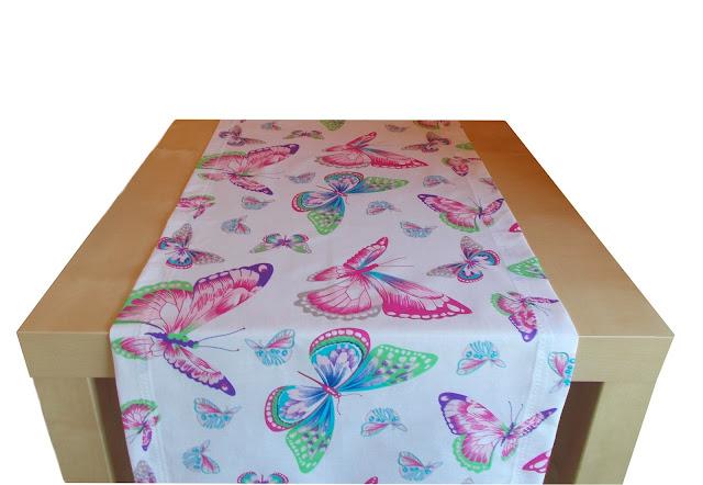 Kolorowy bieżnik na stół