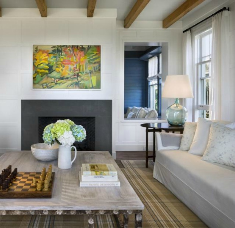 Spotted From The Crow's Nest: Beach House Tour- Nantucket