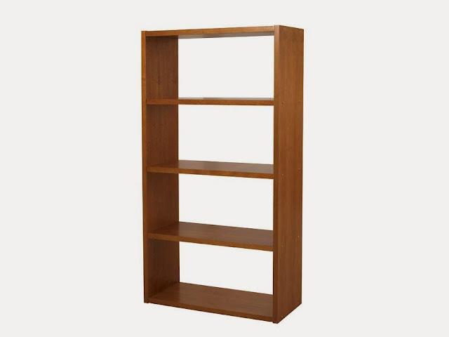 Opções de estantes para armazenar livros
