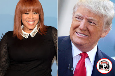 """Gospel singer Tina Campbell Writes Open Letter to Donald Trump: 'IChoose to Stand With Him And Pray For Him"""".Gospel singer Tina CampbellWrites Open Letter to Donald Trump: 'I Choose to Stand With Him AndPray For Him""""."""