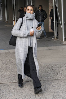 Victoria Secret Model Blanca Padilla Out And About In New York